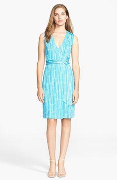 Diane von Furstenberg 'New Yahzi' Silk Wrap Dress on shopstyle.co.uk