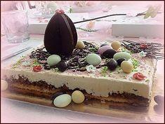 Gâteau de Pâques pour le défi NESTLE DESSERT