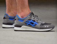 #Asics Gel Lyte III Grey/Blue #sneakers