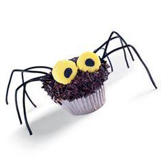 Spider cupcake! Classic