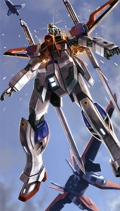 The ZGMF-X56S/β Sword Impulse Gundam is a Mobile Suit in the series Gundam SEED Destiny. Piloted by Shinn Asuka.