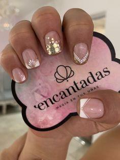 Cute Acrylic Nails, Moka, French Nails, Beauty Nails, Nail Art, Pretty Nails, Work Nails, Short Nail Manicure, Nail Manicure