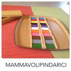 #Montessori lavoro su tavolette