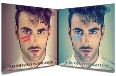 Marco Mengoni doppio disco di platino per l'album #Prontoacorrere