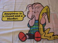 Linus - I Think I Have This Pillowcase From The  60s/70s! I Remember It So Well!!