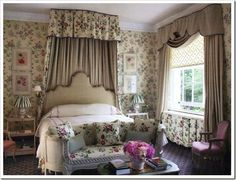 Romantic bedroom (from Shabby and Charme)