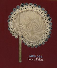 Cane and Bamboo hand fan