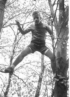 Turnstunde: Baumklettern, 1957