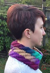 Ravelry: Tunisian Cable Spiral Cowl pattern by Abbey Bongers