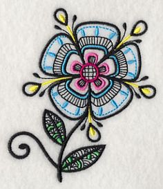 Machine Embroidery Designs at Embroidery Library! - Color Change - J5408