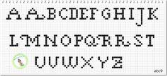 Monograma abc 9 (Maiúsculas)