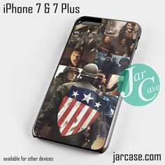 Captain America First Avenger Phone case for iPhone 7 and 7 Plus