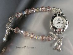 Swarovski Crystal Beaded Watch