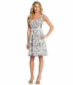 Antonio Melani Aquilina Embroidered Dress #Dillards. THIS DRESS. For photos outside at the park on a picnic, on sail boat, and/or Bella Collina