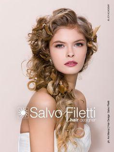 ACCONCIATURE SPOSA 2014: LE FOTO DELLE PROPOSTE DI SALVO FILETTI PER COMPAGNIA DELLA BELLEZZA By www.SomethingTiffanyBlue.com
