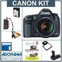 Canon EOS-5D Mark III Digital SLR Camera Body Kit with Canon EF 24-105L IS Lens - Bundle, with Flashpoint Battery Grip, Wireless Remote Shutter Trigger Set, 2-Connecting Cords, Canon STV-250N Stereo Video Cable, Power200 Replacement Battery,Sandisk 8GB CF Card, MemoryCard Wallet & Screen Protector by Canon. $4329.00. Canon EOS 5D Mark III Pro HDSLR the Long-awaited successor to groundbreaking Canon 5D Mark II  The Canon EOS 5D Mark III is an HDSLR designed to ...