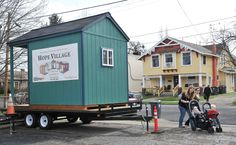The Hope Village project is a collaboration between the Jackson County Homeless Task Force and Rogue Retreat, which is negotiating for a half-acre property in Medford at an as-yet-undisclosed location.  Homeless advocates say they hope the village will help homeless people, many of whom suffer from mental problems, gain a greater sense of security and get them off the streets. Tiny houses aren't a new concept. Eugene and other cities have embraced the idea.