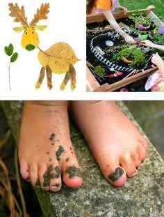 12 Fun Nature Activities for Kids to get them exploring and enjoying the wonderful Fall season!