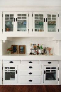 built in dining room