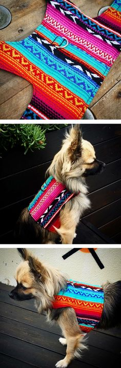 Mexican Chihuahua Dog Harness, Dog Vest, Pet Accessories, small dog vest, Christmas gift for pet lovers