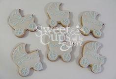 Cookies Cochecitos para el Baby Shower de Benjamín