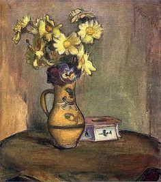 Władysław Ślewiński: Żółte kwiaty