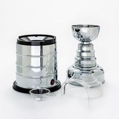 Pangea Brands NHL Stanley Cup Popcorn Maker is a convenient and efficient way to make tasty popcorn in your home. Convenient to use. Air Popcorn Maker, Popcorn Company, Popcorn Supplies, Air Popper, Belgian Waffle Maker, Cord Storage, Safety Glass, Red Led, Stanley Cup
