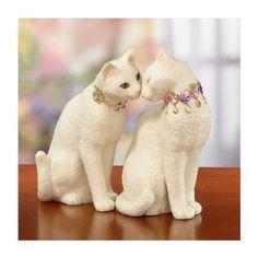 LENOX CHARISMATIC CAT CATS FIRST KISS