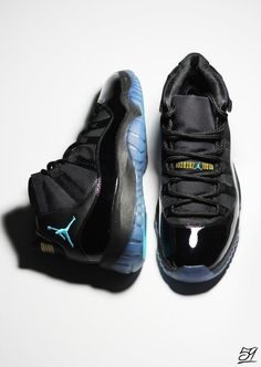 Air Jordan 11s 'Gamma Blue'
