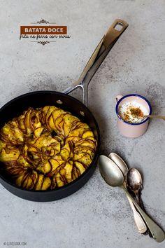 "Clavel's Cook: O que nos define? {batata doce ""frita"" no forno}"