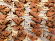 Smoked Salmon on Olive Tapenade