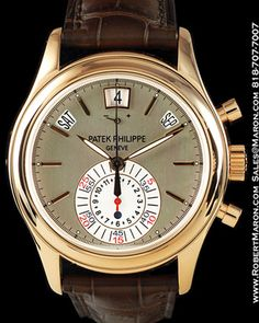 patek phillipe annual calendar chronograph