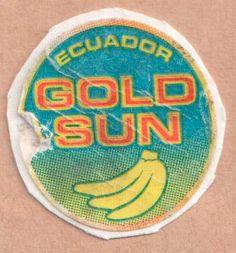 fruit sticker #goldsun
