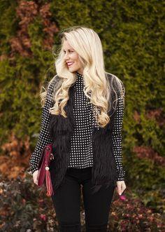 Kim Faux Fur Vest #JessLeaBoutique
