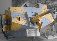 St Chamond WW1 French Tank