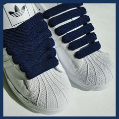 fb7b360f826d0 Navy Blue 15mm Medium Fat Laces [15-NBL] - £3.25 : BBoy Laces | High  Quality Fat Shoelaces