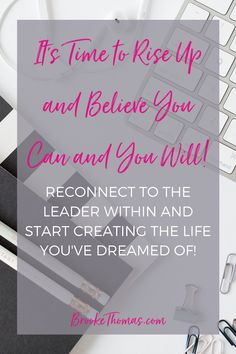 Feeling unfulfilled only means you were made for more! Have you ever stopped to think about the ROLE you thought you would play in your life, business, and family? Do you want to be a LEADER and the director of your future? It's time to rise up! It's time to believe you can and you WILL! #LeadHERshipAcademy #liveoutloud #riseup #womenwholead