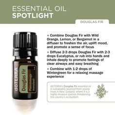 doTERRA Douglas Fir essential oil is sustainably sourced from young trees in New Zealand, where it is a highly invasive species threatening the country's ecosystem. By harvesting the young Douglas Fir trees and using them for essential oil, doTERRA is helping to combat the environmental impact of the trees overtaking the land while providing a premium conifer essential oil.