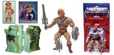 More He-Man. Pretty awesome stuff here. I love seeing them in the packages.