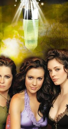 Created by Constance M. Burge.  With Holly Marie Combs, Alyssa Milano, Brian Krause, Rose McGowan. Three sisters discover their destiny - to battle against the forces of evil, using their witchcraft. They are the Charmed Ones.