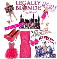 """""""Elle Woods"""" by michelle-carter ❤ liked on Polyvore"""