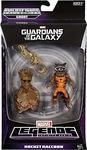 Rocket Raccoon Manufacturer: Hasbro Series: Guardians of the Galaxy Series 1 Marvel Legends Release Date: June 2014 For ages: 4 and up UPC: 653569956495 Details (Description): Intergalactic bounty hunter Rocket Raccoon and his partner Groot are hot on the trail of their next big payday: the human known as Star-Lord! The Guardians of the Galaxy need all the help they can get to save the cosmos from destruction and this is your chance to build them a mighty ally! This 6-inch Rocket Raccoon…