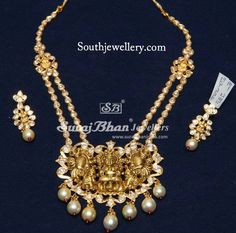 Pachi Temple Necklace
