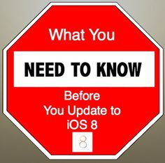 What You Need to Know Before You Update to iOS 8  http://www.wonderoftech.com/ios8-update-how-to/  If you've had problems updating to iOS or don't want to delete anything from your phone to do the update, check out these tips.
