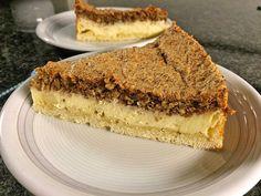 Quarkkuchen mit Walnuss - Schaum