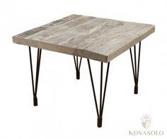 Tøft og rustikt Old Amsterdam sidebord produsert av resirkulert eik med et stilig og minimalistisk understell i jern.Mål:Lengde 60…