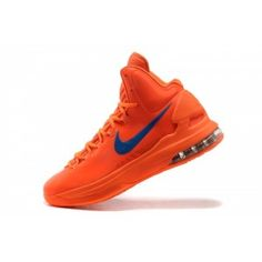 reputable site 41953 e6698 Nike KD Kevin Durant 5 V Herre Sko Orange Royal Sko Kd Shoes, Lebron 15