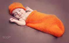 Newborn,newborn probs,orange,newborn position