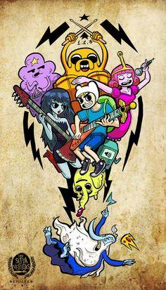 Adventure Time vs. The World