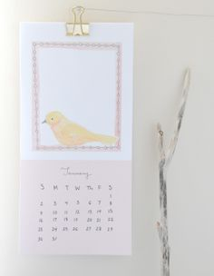 Free Printable 2011 Calendar - Home - Creature Comforts - daily inspiration, style, diy projects + freebies